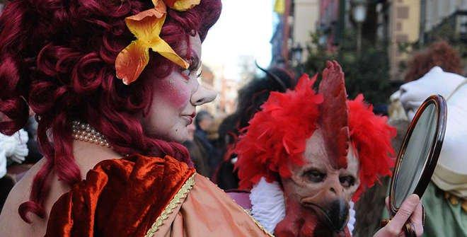 Desfile de Carnaval de 2017.