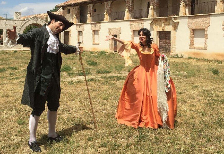 Visitas teatralizadas para Nuevo Baztán. Madrid con niños.