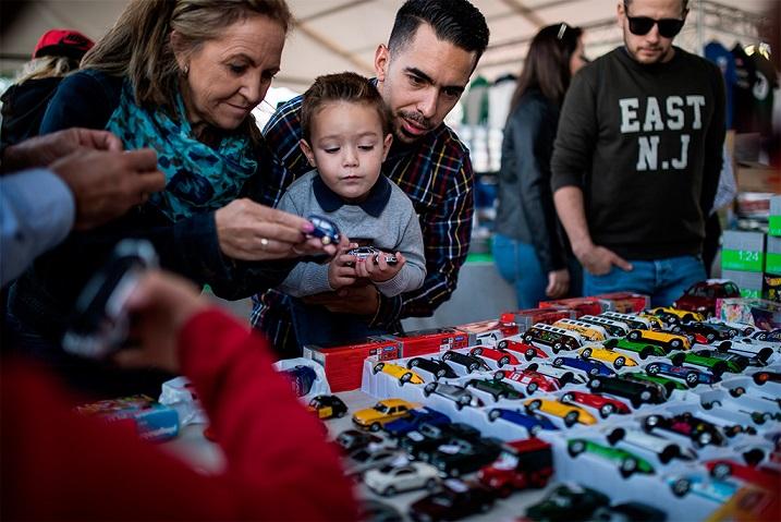 Jarama 2 Madrid con niños, dragones y unicornios
