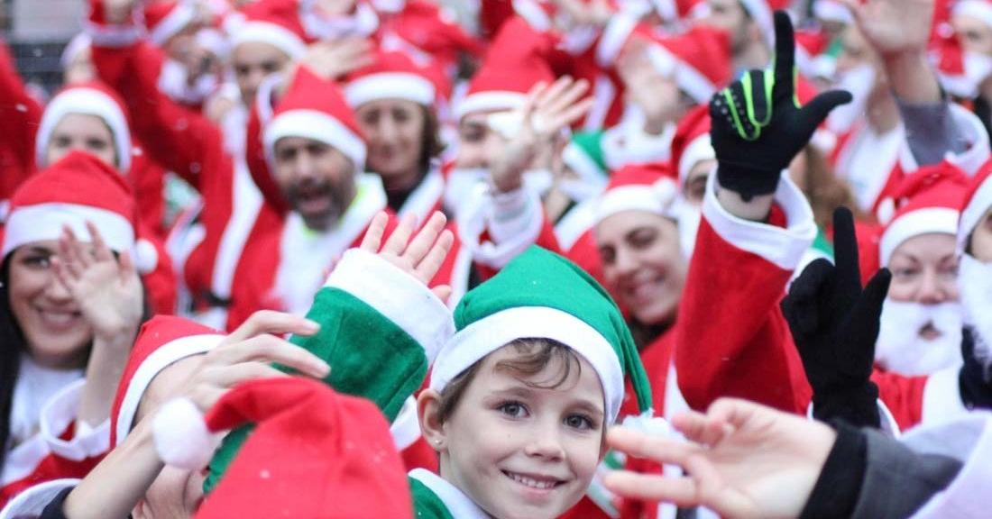 Regresa a Madrid el evento deportivo más divertido y familiar de la Navidad: ¡La carrera de Papá Noel 2018!