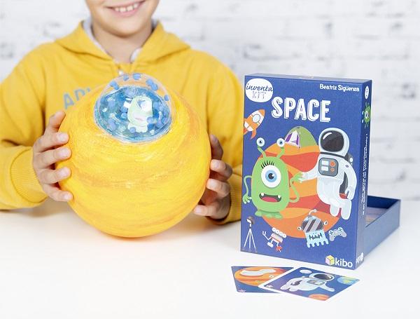 Con SPACE vivirás aventuras espaciales divertidas con Greg, el astronauta y Nia, la marciana.