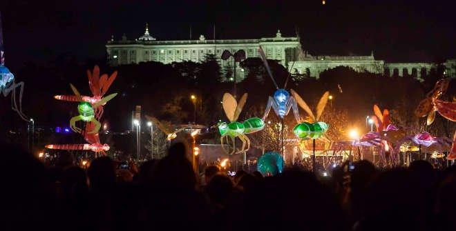 Desfile de la luz del año pasado.