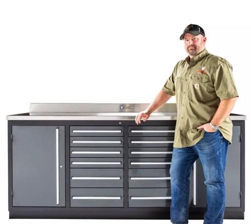 Heavy Duty 12 Drawer Workbench