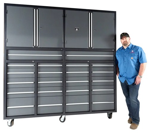 Heavy Duty Industrial Roll Around Cabinet