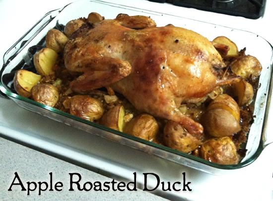 apple roasted duck