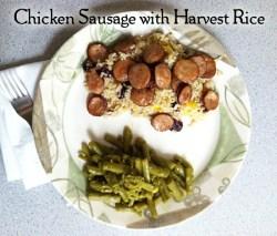 Chicken Sausage with Harvest Rice Recipe