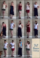 7x7 Remix Challenge outfits