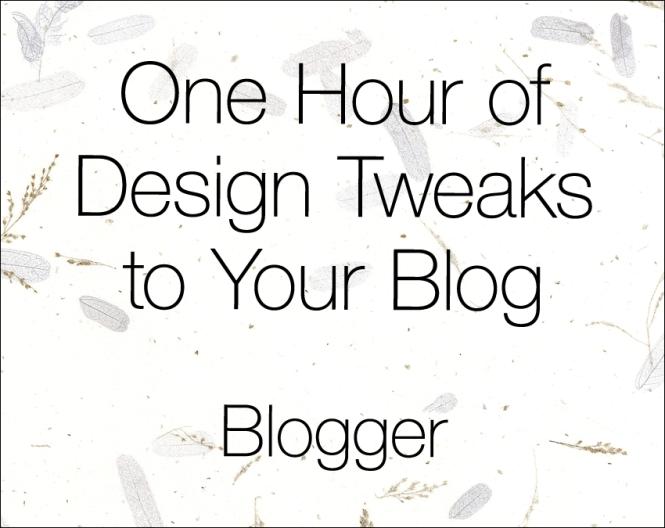 blogger-tweaks