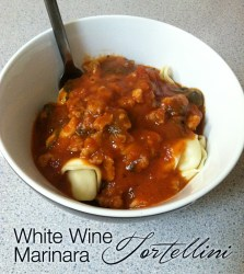 White Wine Marinara Tortellini