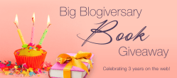 Big Blogiversary Book Giveaway