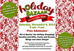 Holiday Bazaar Postcard 2014
