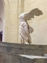 The Nike of Samothrace, another famous ancient Greek statue. Love the wings.