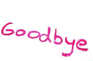 Breakup goodbye