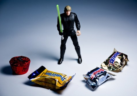 Willpower_Luke Skywalker vs chocolate