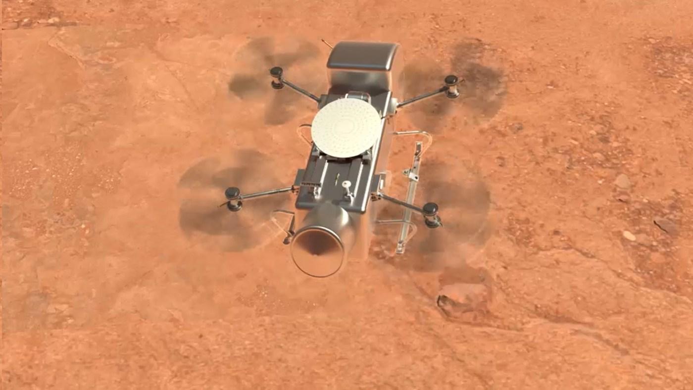 Dragonfly Rotorcraft Lander