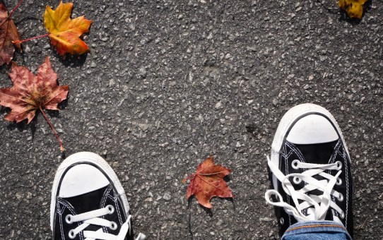 Photo, lisa mikulski, feet, autumn