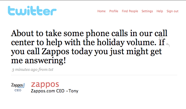 How Zappos uses social media  Twitter  Facebook and Instagram