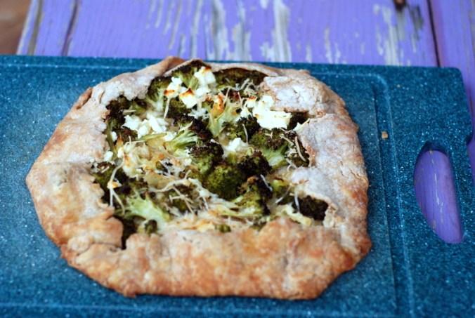 broccoli galette 1