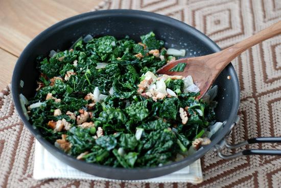 kale in skillet 2