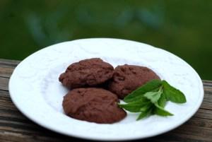 chocolate mint cookies 4