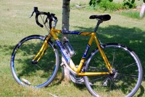 bike under aspen