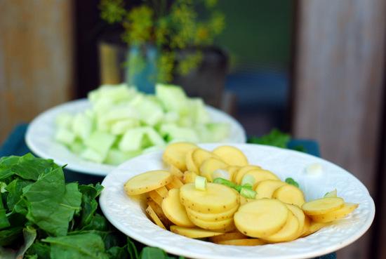 chopped vegetables 2