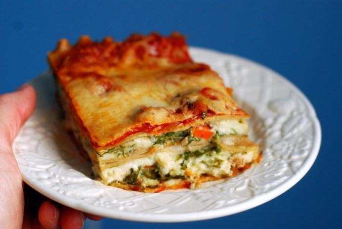 lasagna against blue 2
