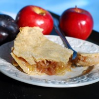 Apple Pie with a Hint of Plum