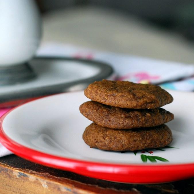 maple molasses cookies stack 2