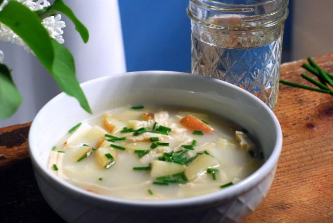 potato leek soup with blue 3