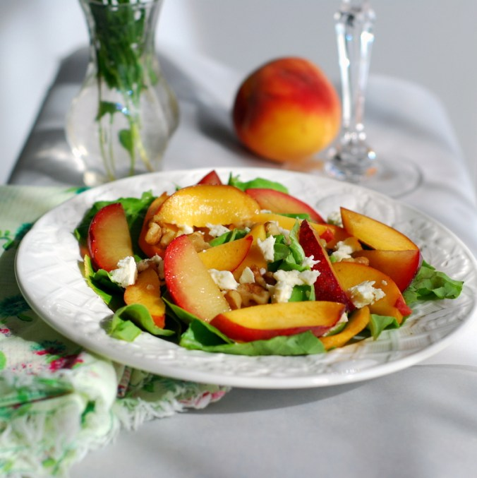 peach-plum salad