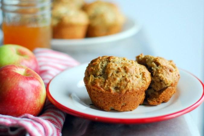 apple cider muffins