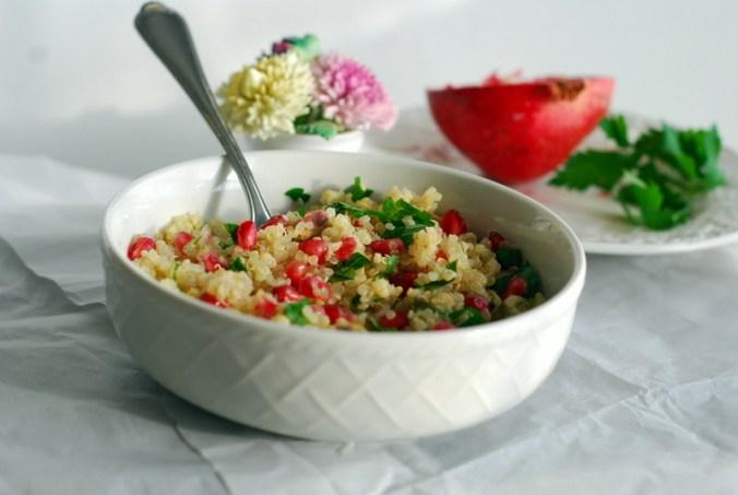 pomegranate quinoa