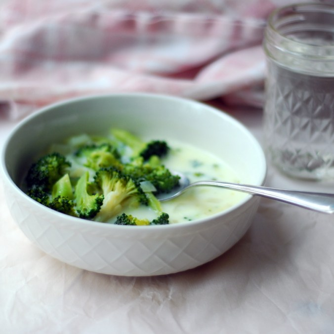 broccoli buttermilk soup