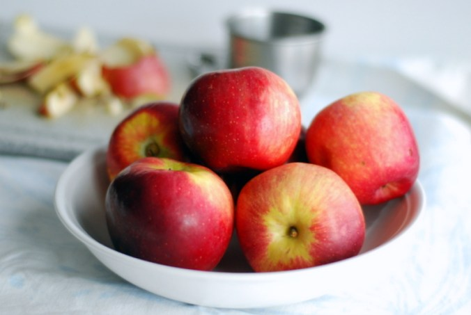 apples and peels