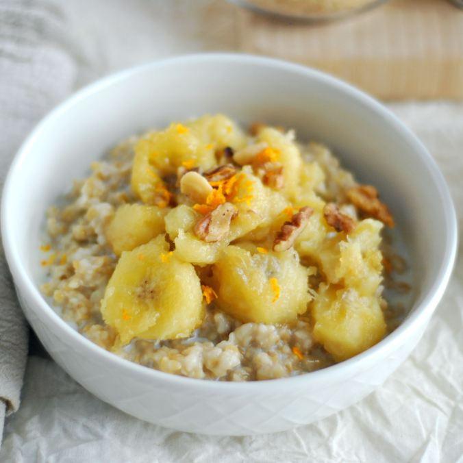 oatmeal with bananas 1833