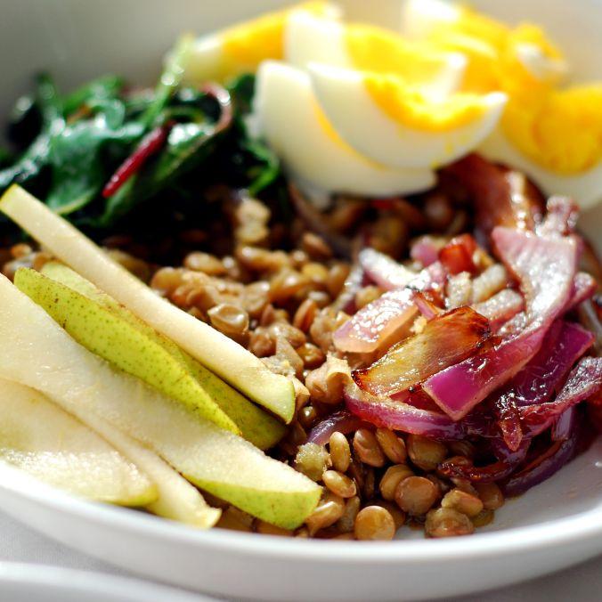 green lentil power bowls 318