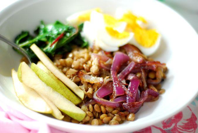 green lentil power bowls 458