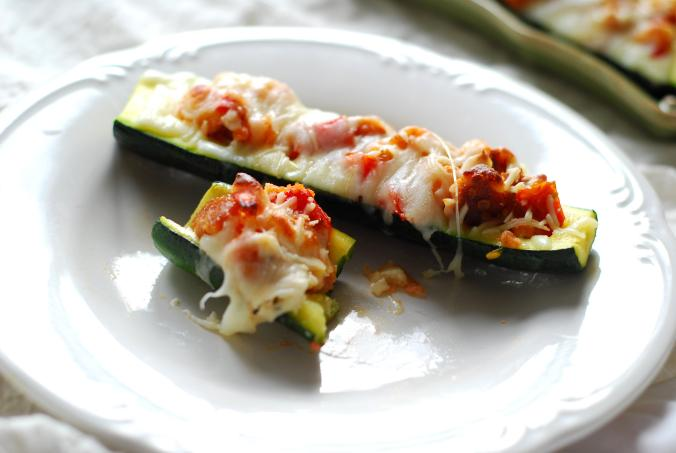 stuffed zucchini boat bite 1598