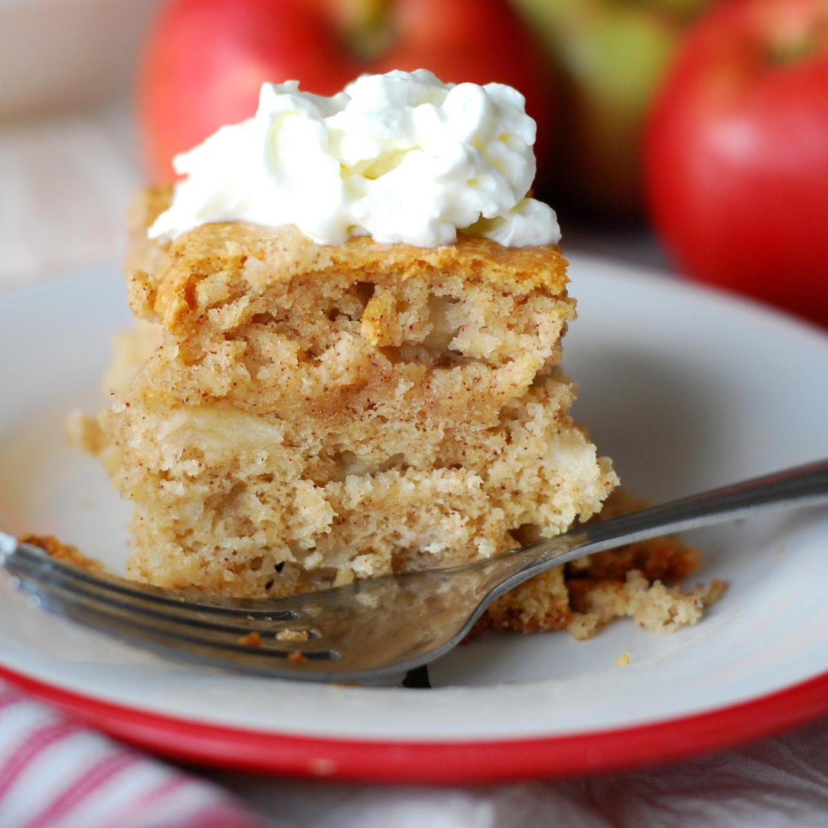 Happy Apple Snacking Cake