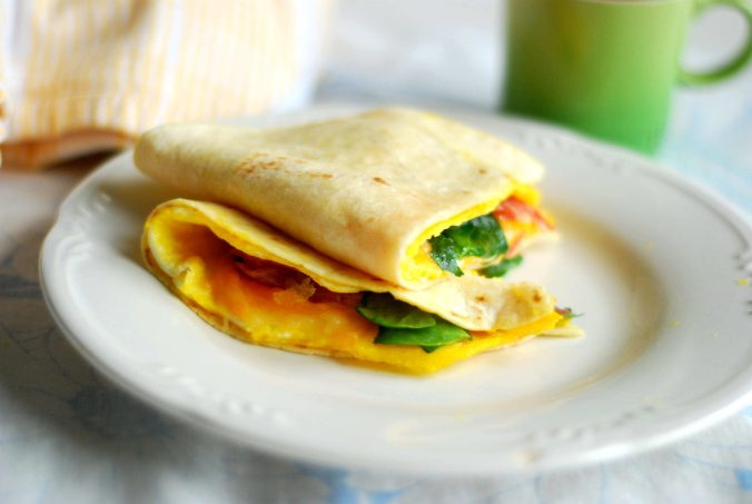 egg & tortilla fold