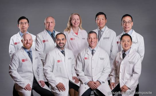 03_las vegas photographer group photo composite green screen physician medical practice