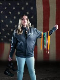 20_best high school senior photos, las vegas, wrestler, medals, american flag, girl senior photography, composite