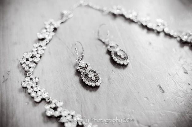 Jenn's grandmother's diamond earrings!