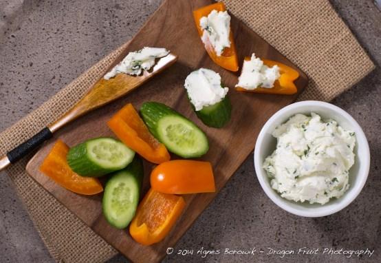 Tarragon Goat Cheese Spread-Agnes_Borowik_food_photography