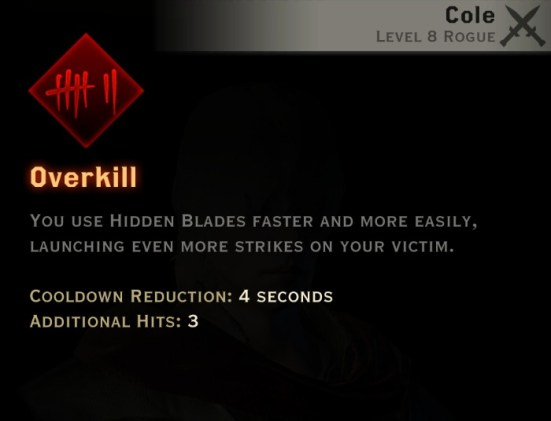 Dragon Age Inquisition - Overkill Assassin rogue skill