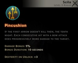 Dragon Age Inquisition - Pincushion Archery rogue skill