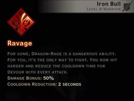 Dragon Age Inquisition - Ravage Reaver warrior skill
