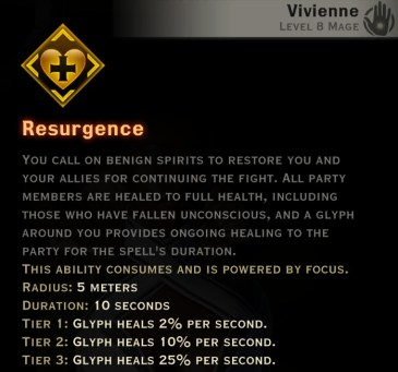 Dragon Age Inquisition - Resurgence Knight-Enchanter mage skill