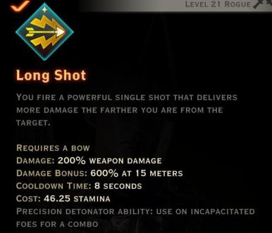Long Shot is one example of a combo detonator ability